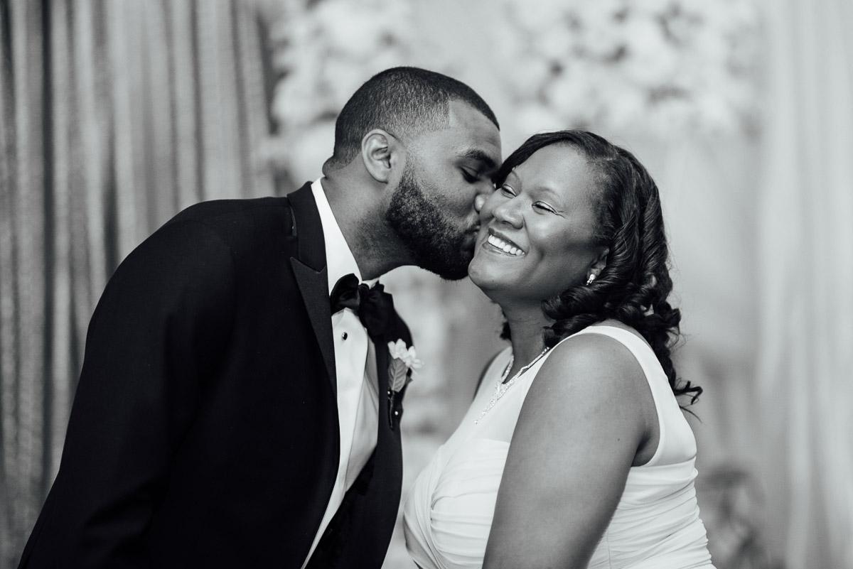 groom-kissing-mom Hermitage Hotel Wedding | Barbara and Darrius