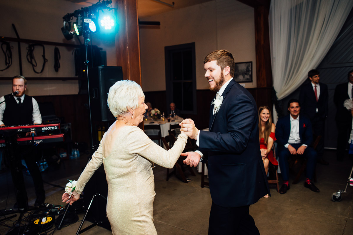 groom-with-grandmother-dancing Belle Meade Plantation Wedding | Kendall and Andrew