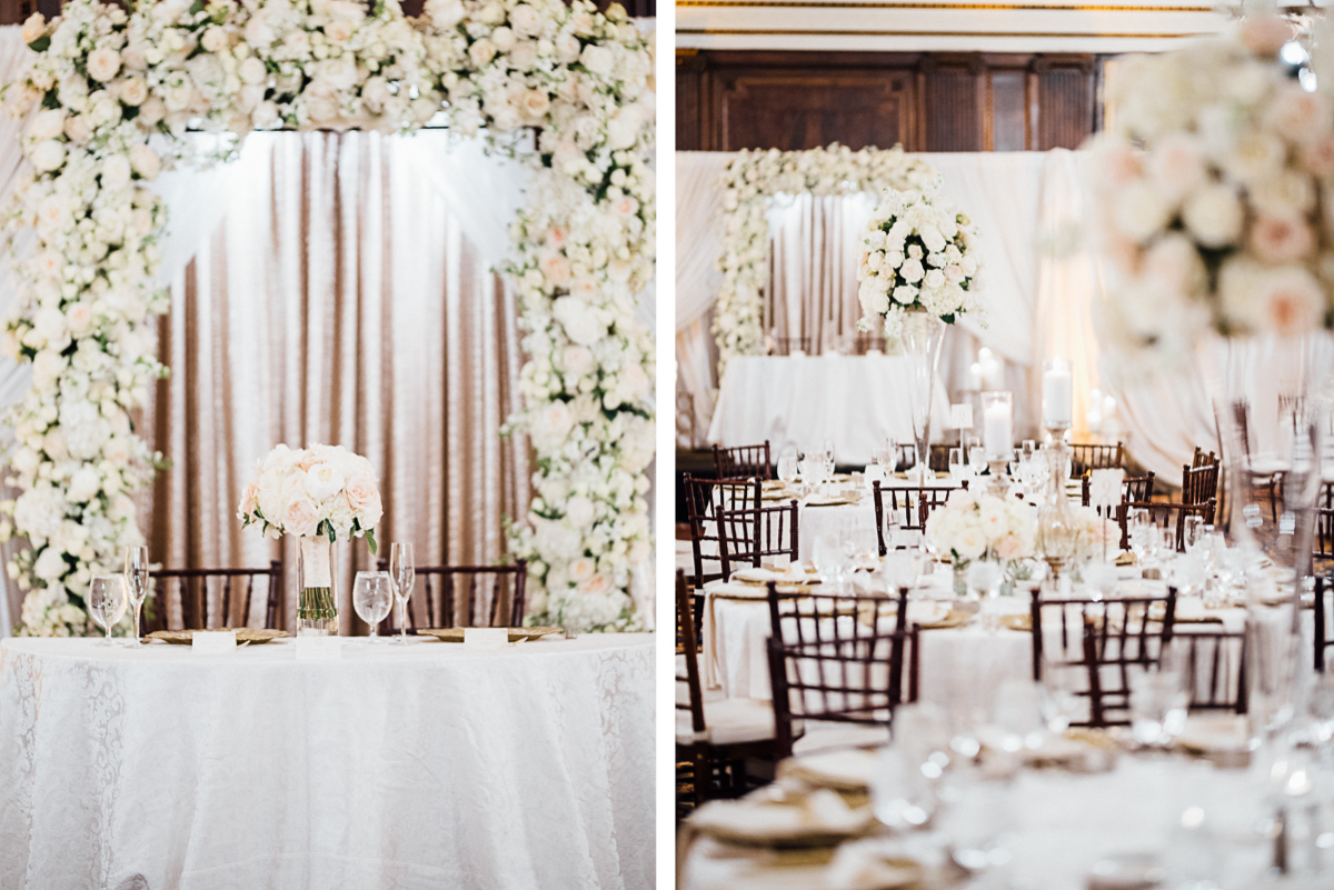 nashville-wedding-reception-details Hermitage Hotel Wedding | Barbara and Darrius