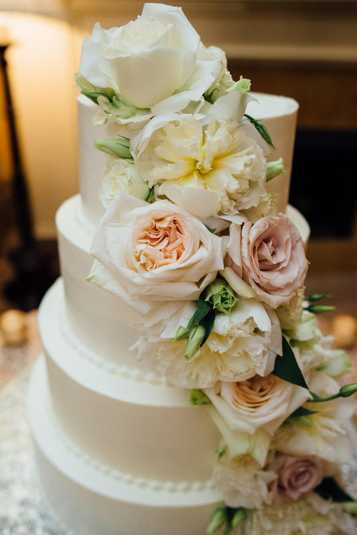 wedding-cake Hermitage Hotel Wedding | Barbara and Darrius