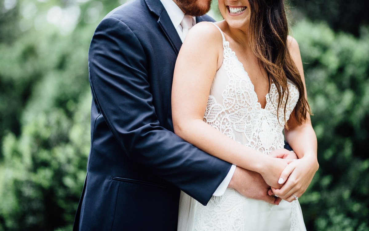 wedding-hug-pose Belle Meade Plantation Wedding | Kendall and Andrew