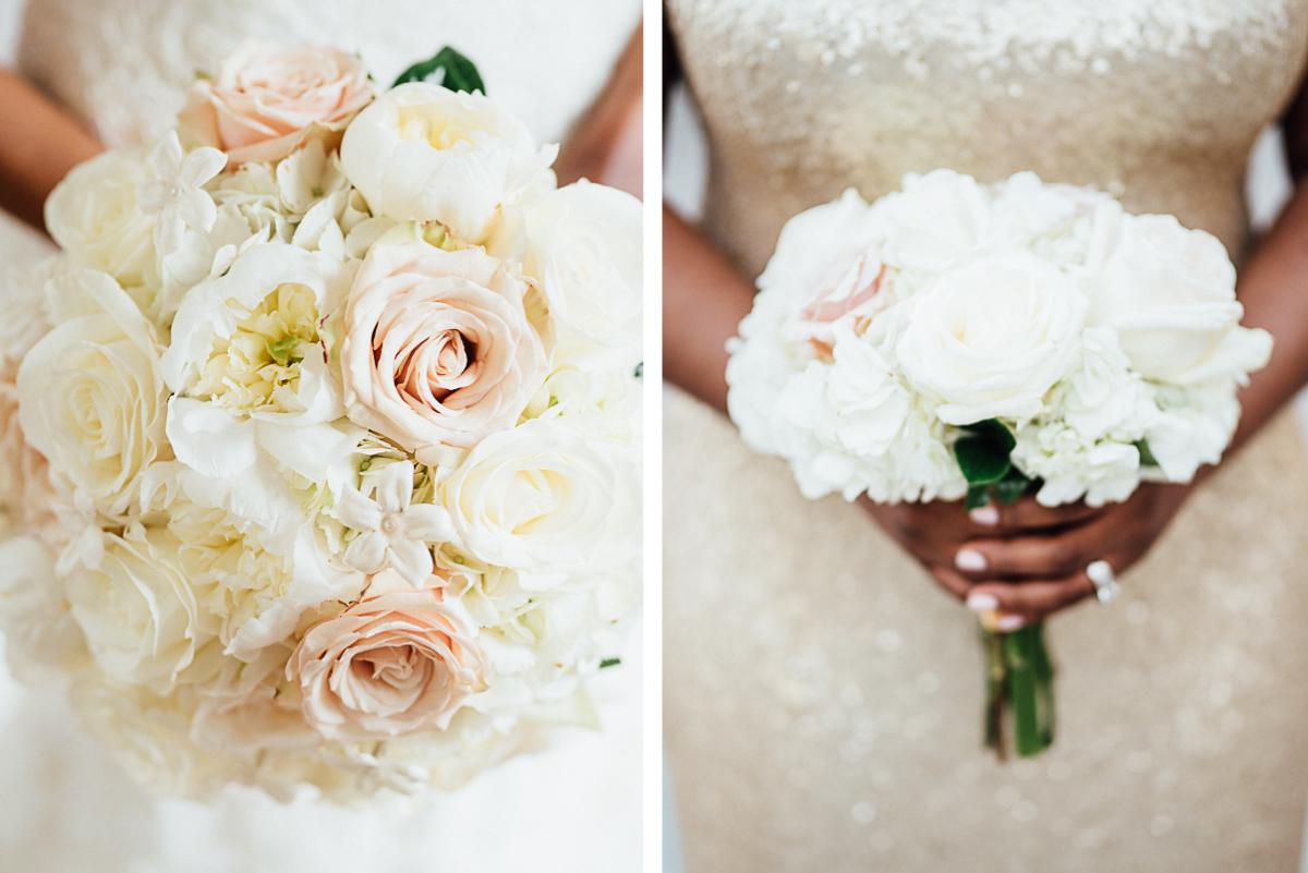 white-rose-wedding-bouquet Hermitage Hotel Wedding | Barbara and Darrius