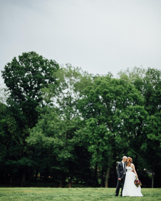 bride-groom-park Nashville Elopement Photographer | Percy Warner Park