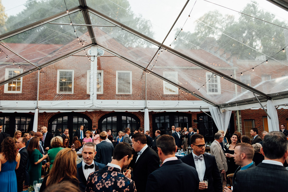 cheekwood-wedding-reception Cheekwood Garden Wedding | Tom and Guy