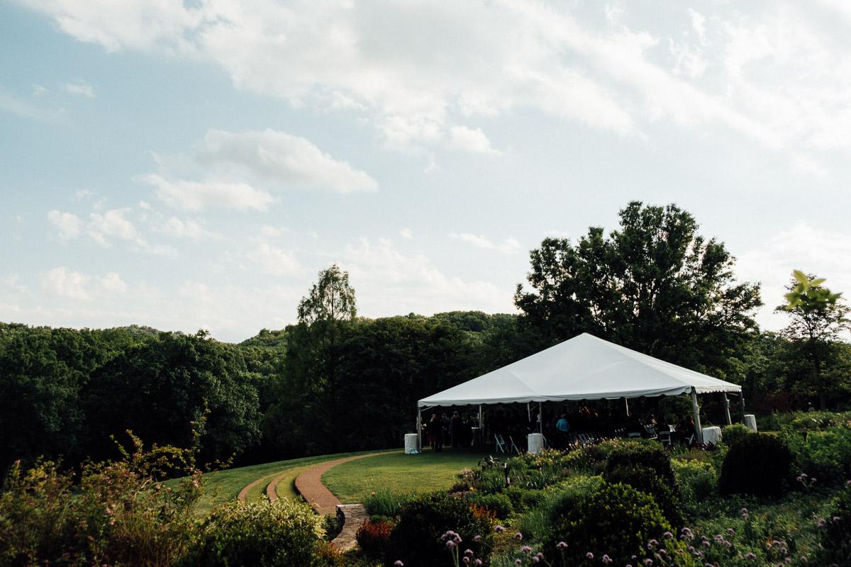 cheekwood-wedding-tented Cheekwood Garden Wedding | Tom and Guy