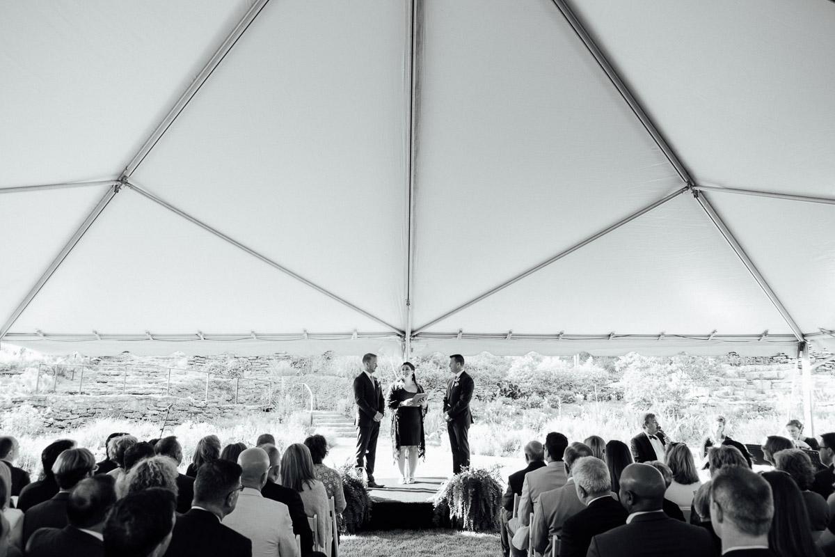 cheekwood-wedding-under-tent Cheekwood Garden Wedding | Tom and Guy
