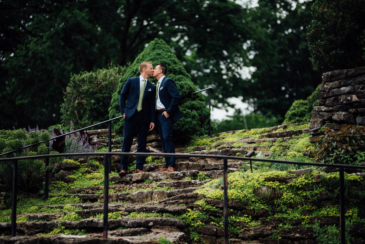 cheekwood-weddings Cheekwood Garden Wedding | Tom and Guy
