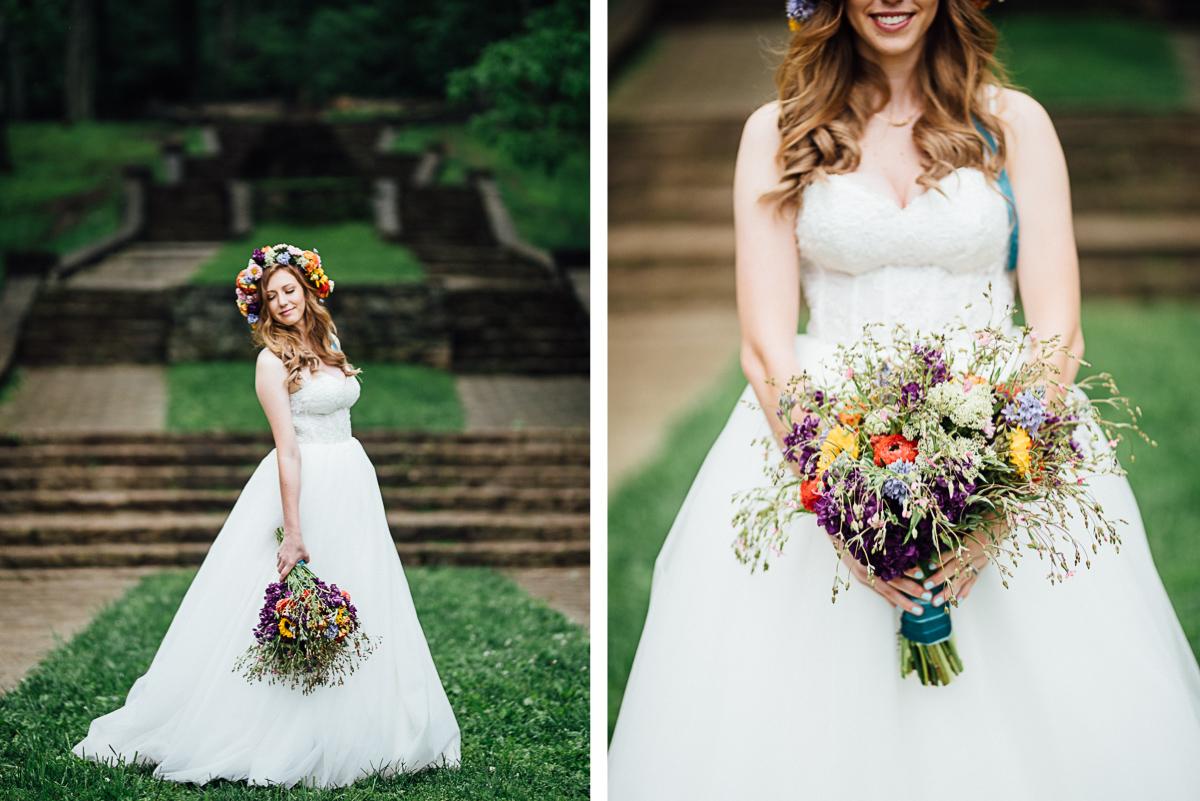 elopement-nashville-flowers-detail Nashville Elopement Photographer | Percy Warner Park