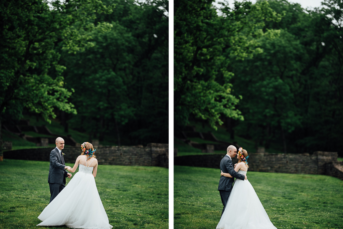elopment-first-dance Nashville Elopement Photographer | Percy Warner Park