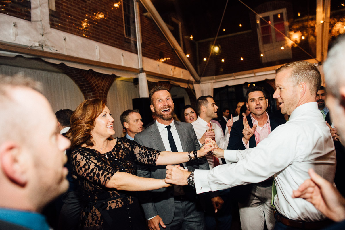 fun-wedding-reception Cheekwood Garden Wedding | Tom and Guy