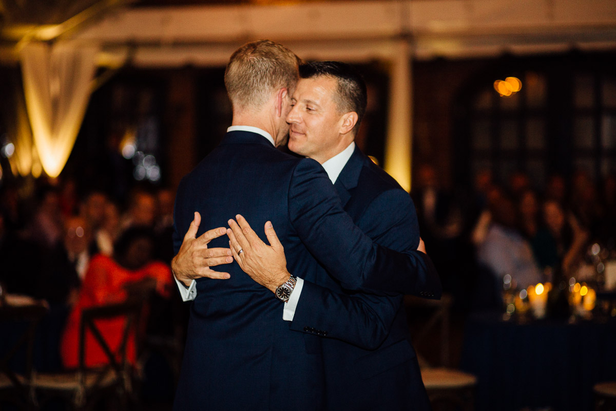 grooms-first-dance Cheekwood Garden Wedding | Tom and Guy
