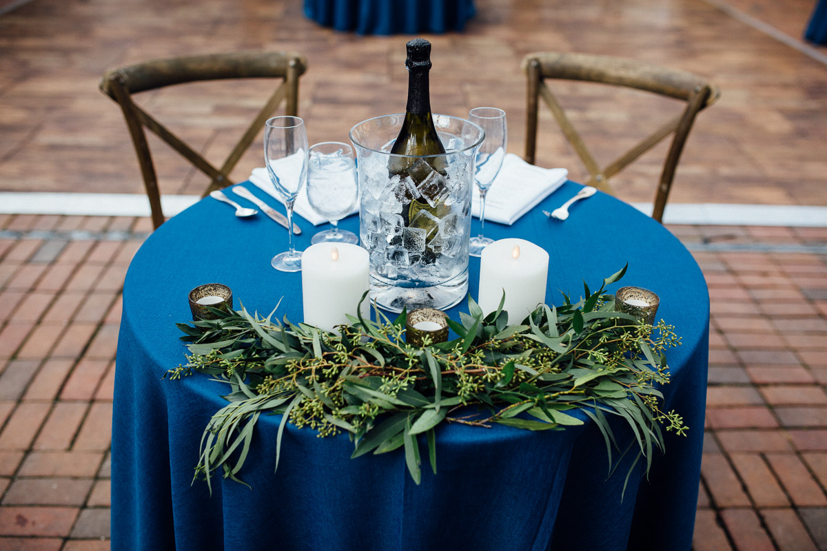 grooms-table Cheekwood Garden Wedding | Tom and Guy