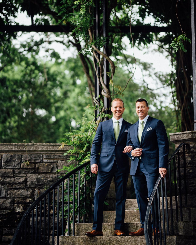 nashville-gay-wedding-photographer Cheekwood Garden Wedding | Tom and Guy