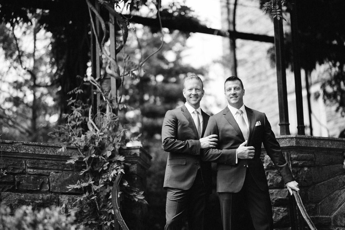 nashville-tn-wedding Cheekwood Garden Wedding | Tom and Guy