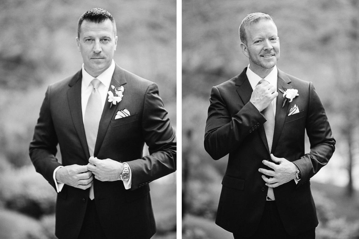 nashville-wedding-portraits-black-and-white Cheekwood Garden Wedding | Tom and Guy