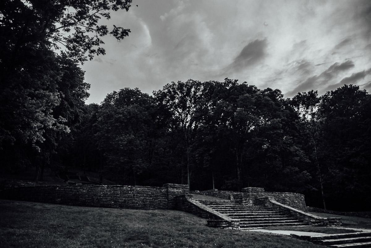 percy-warner-park-steps Nashville Elopement Photographer | Percy Warner Park
