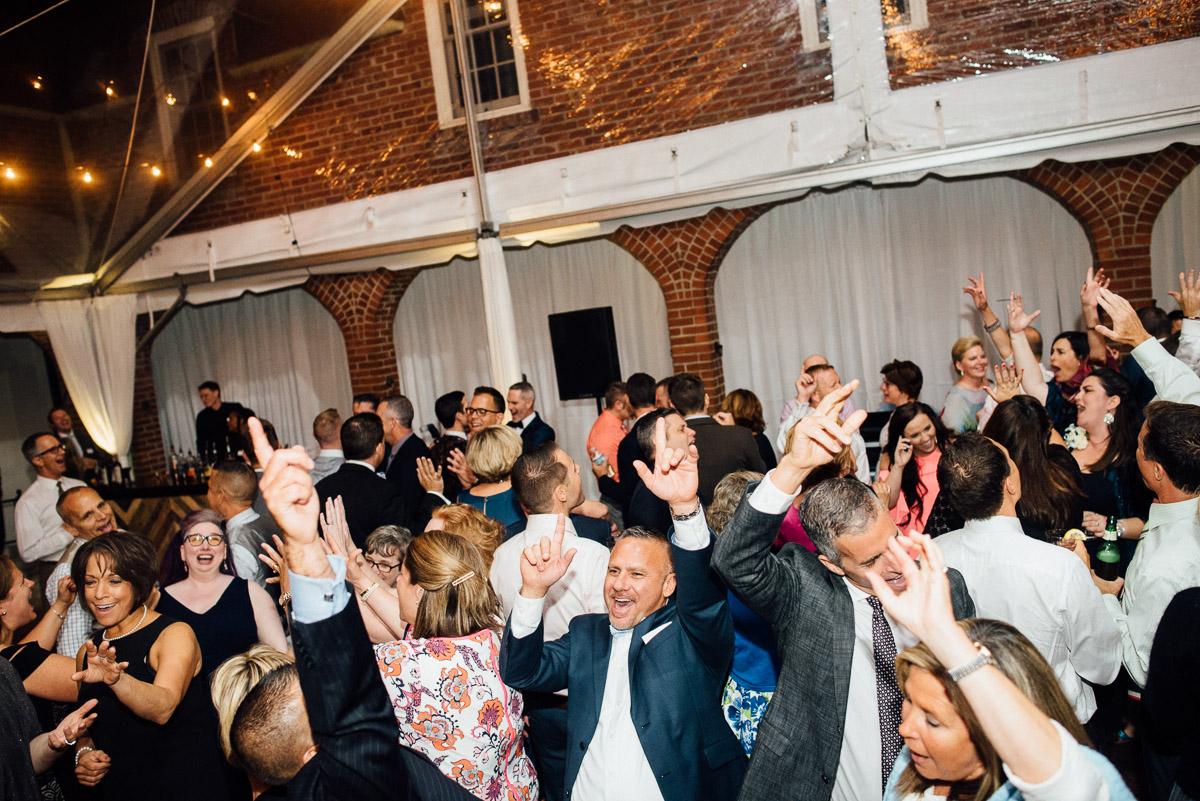 wedding-dancing Cheekwood Garden Wedding | Tom and Guy