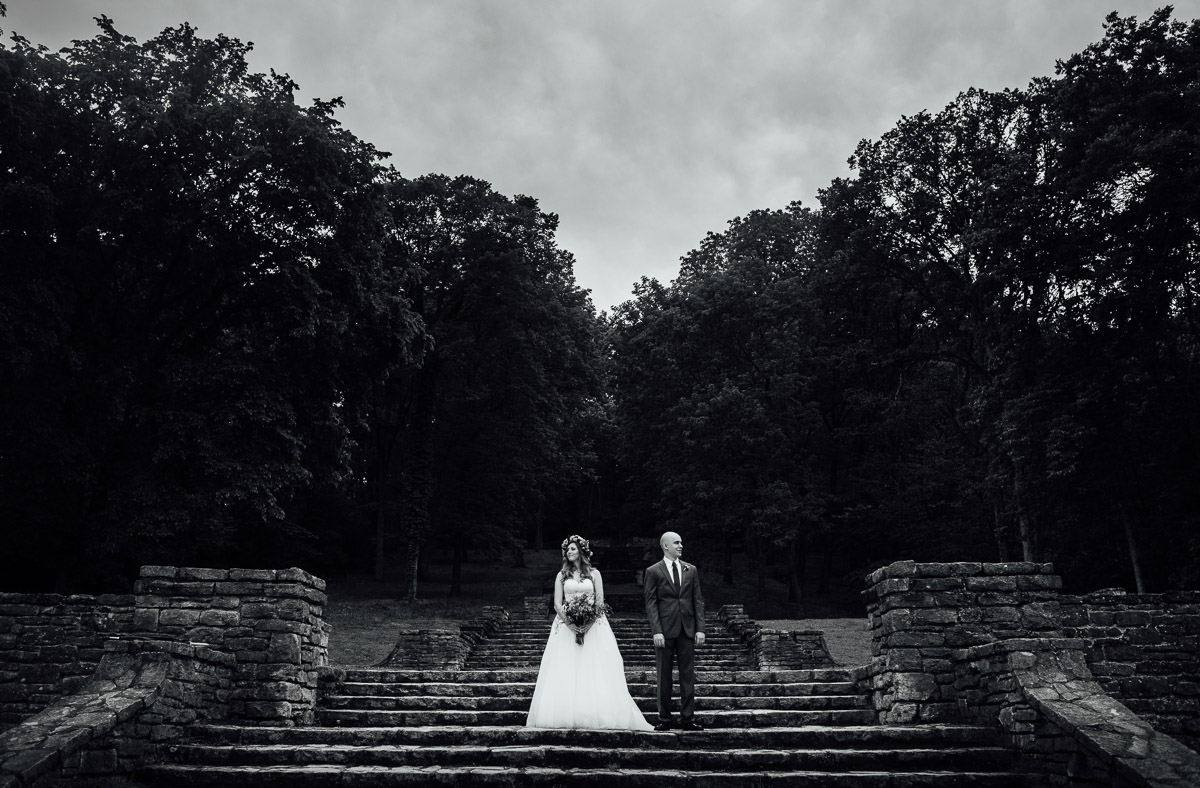 wes-anderson-style-wedding-photo Nashville Elopement Photographer | Percy Warner Park