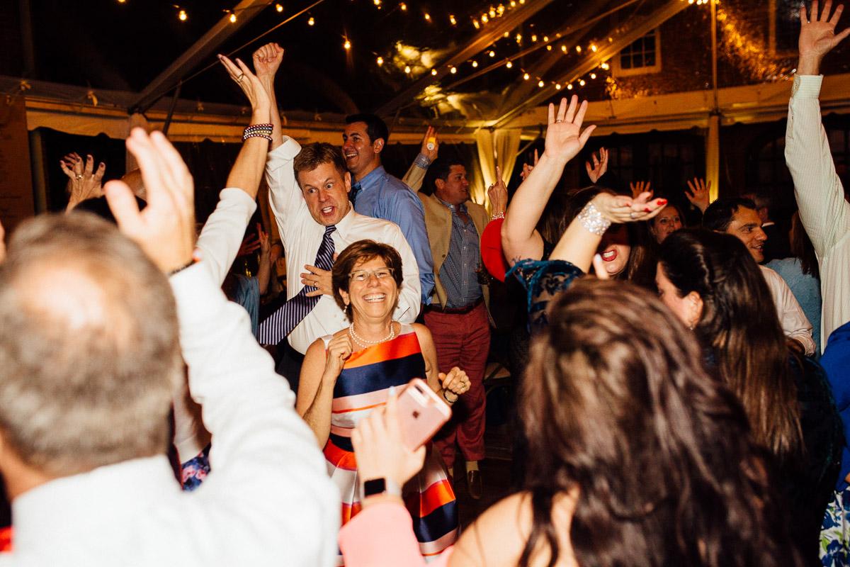 wild-wedding-reception Cheekwood Garden Wedding | Tom and Guy