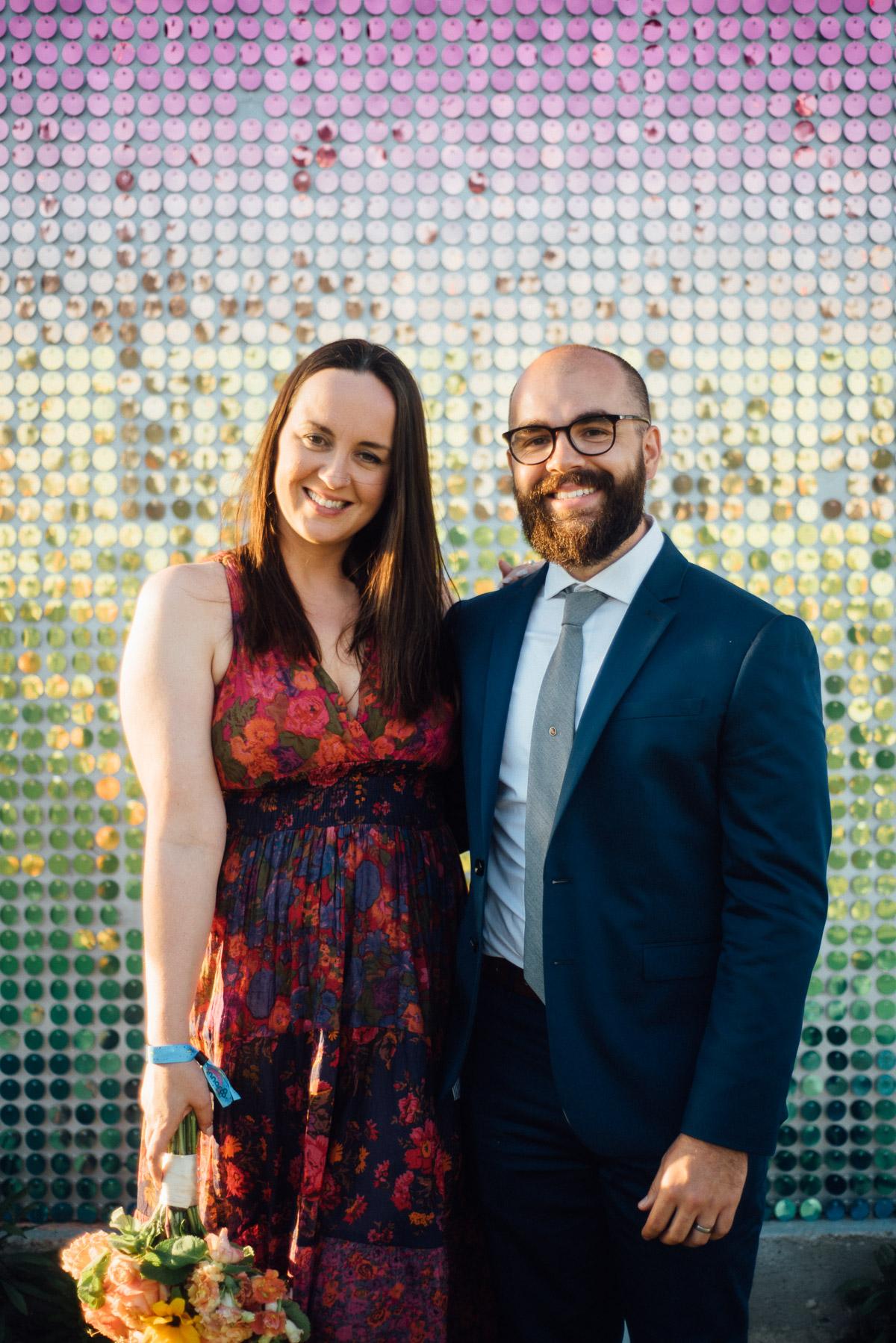 bonnaroo-couple-wedding Bonnaroo Music Festival Wedding | James and Jen