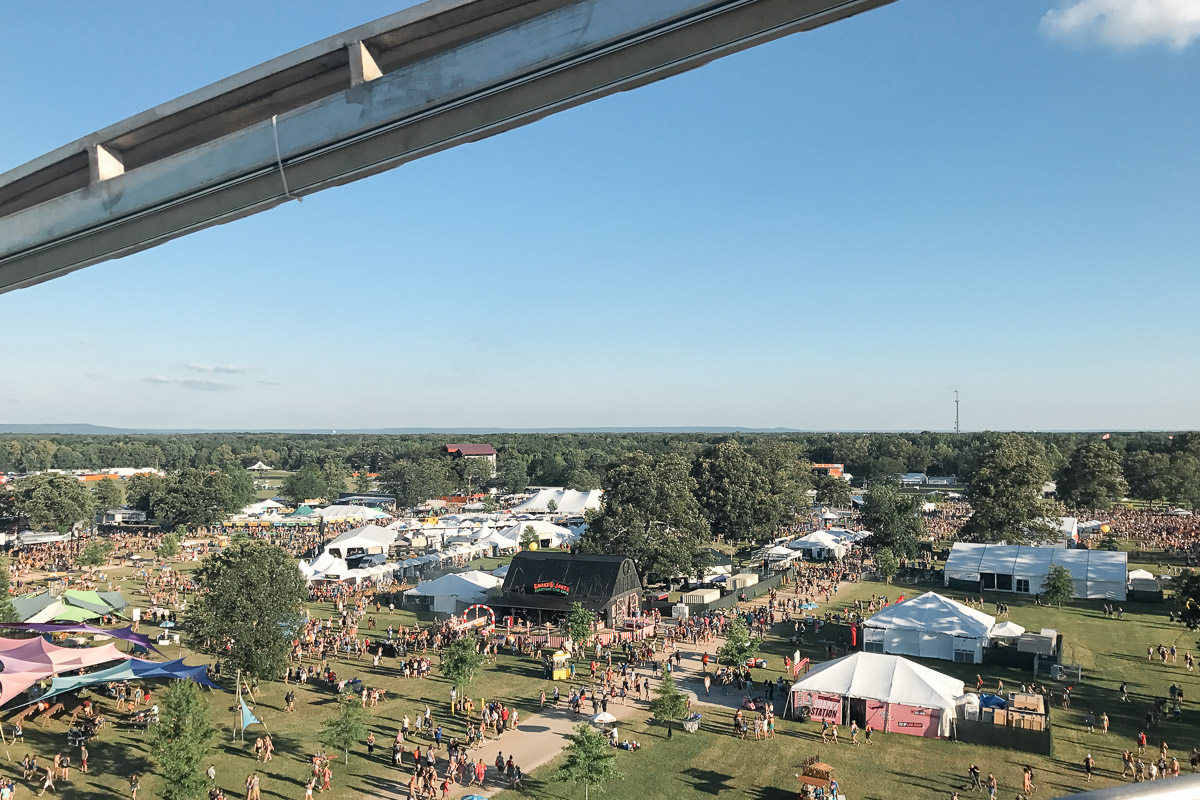 bonnaroo-view-2017-12 Bonnaroo Music Festival Wedding | James and Jen