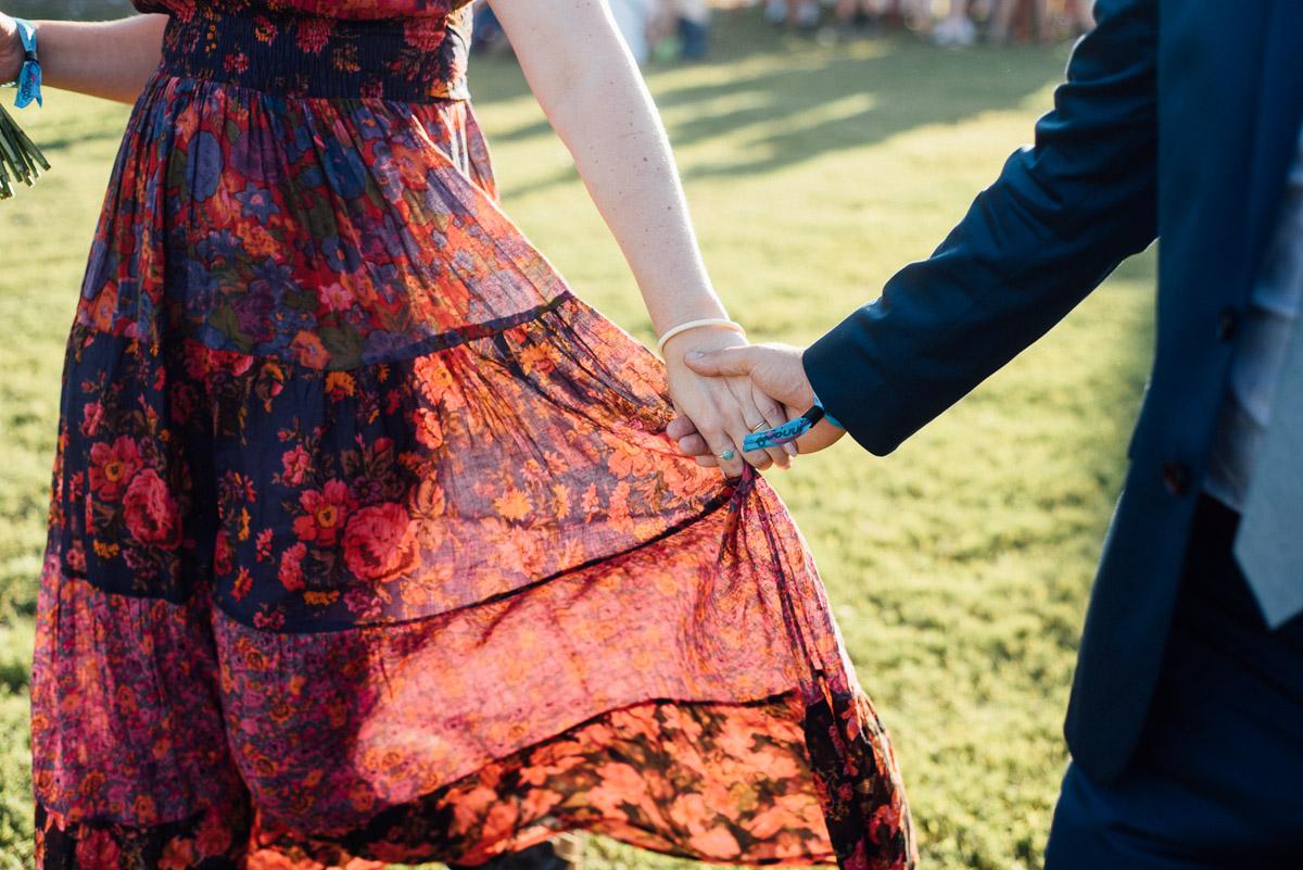bonnaroo-wedding-2017-hands Bonnaroo Music Festival Wedding | James and Jen