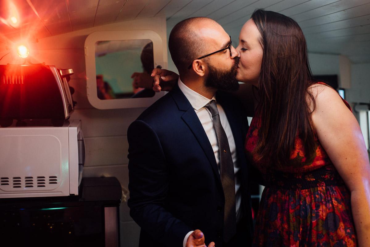bonnaroo-wedding-kiss-36 Bonnaroo Music Festival Wedding | James and Jen