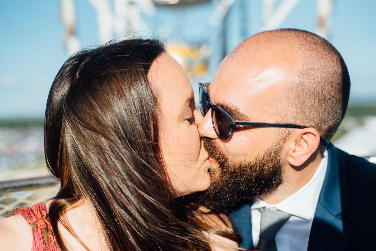 bonnaroo-wedding-kiss-9-1 Bonnaroo Music Festival Wedding | James and Jen