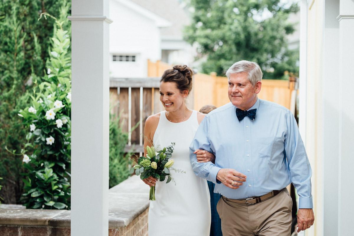 backyard-wedding-celebration Becky and Kelly | Intimate Backyard Wedding