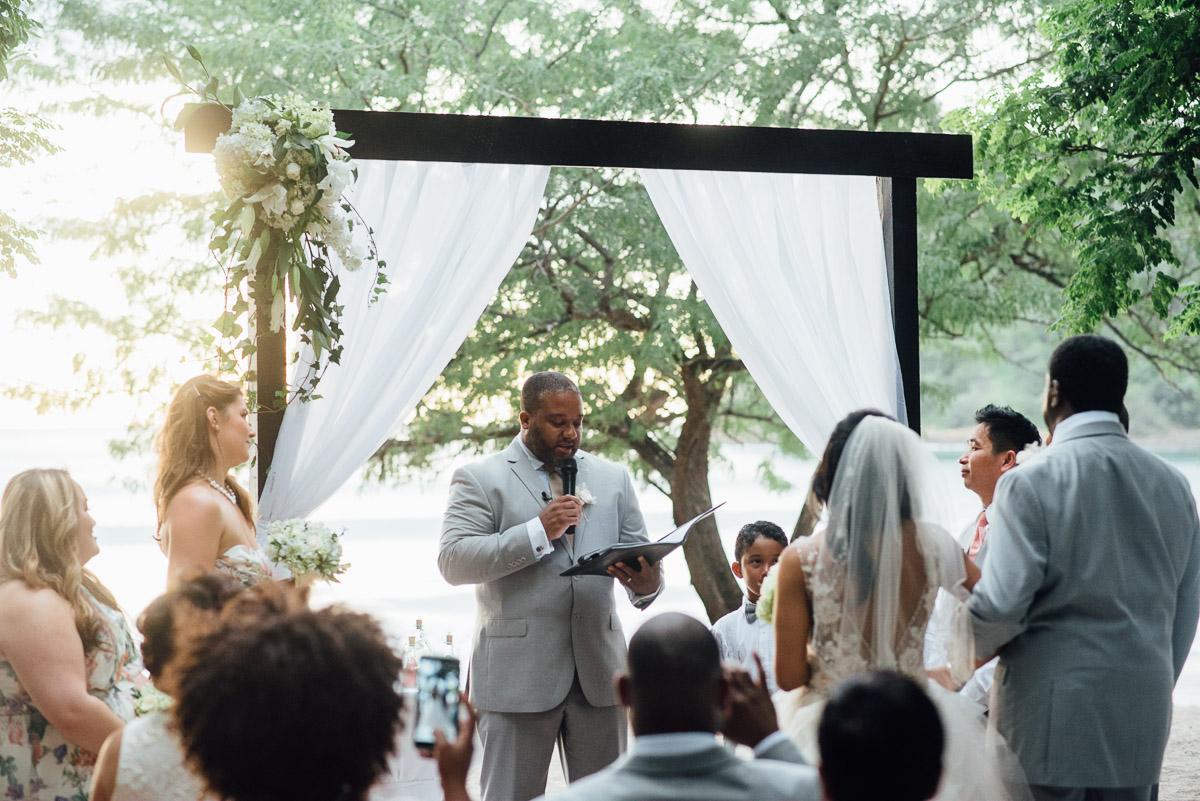 beach-wedding-inspiration Costa Rica Destination Wedding