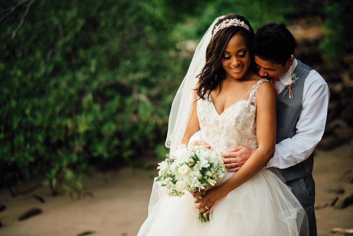 bride-groom-portraits Costa Rica Destination Wedding