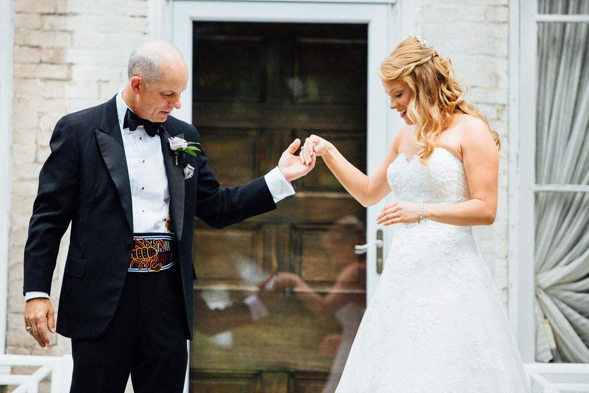 bride-with-father-1 Riverwood Mansion Wedding | Ashley and Kirk | Nashville, TN
