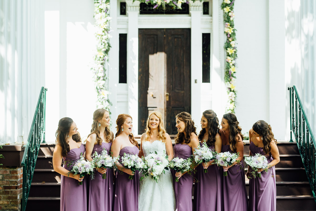bridesmaids Riverwood Mansion Wedding | Ashley and Kirk | Nashville, TN