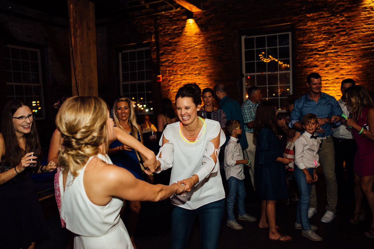 dancing-brides Becky and Kelly | Intimate Backyard Wedding