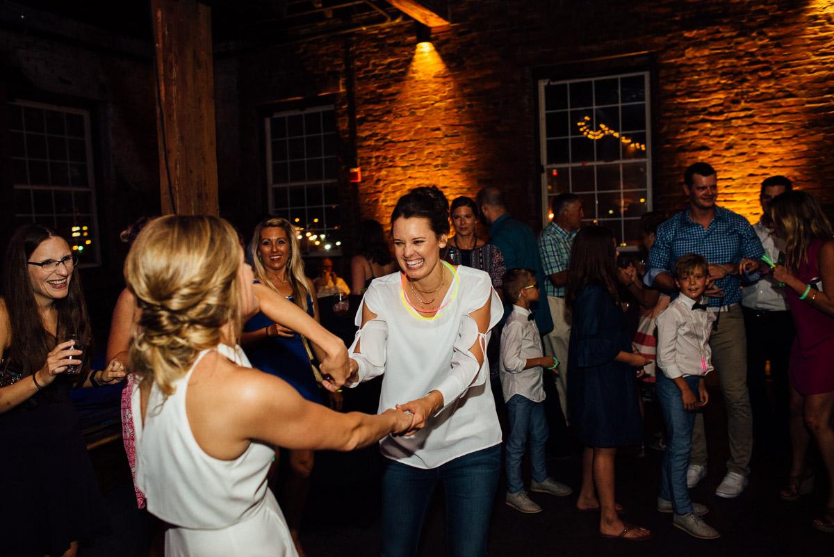 dancing-brides Becky and Kelly | Intimate Backyard Wedding