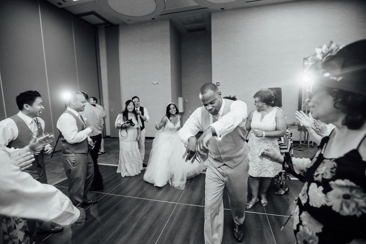 dancing Costa Rica Destination Wedding