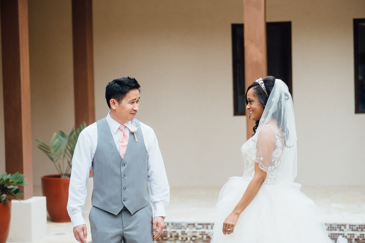 emotional-firstlook Costa Rica Destination Wedding