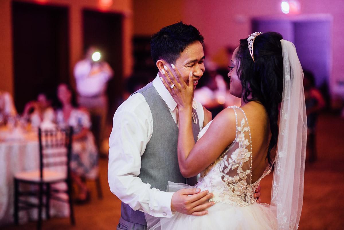 first-dance-husband-wife Costa Rica Destination Wedding