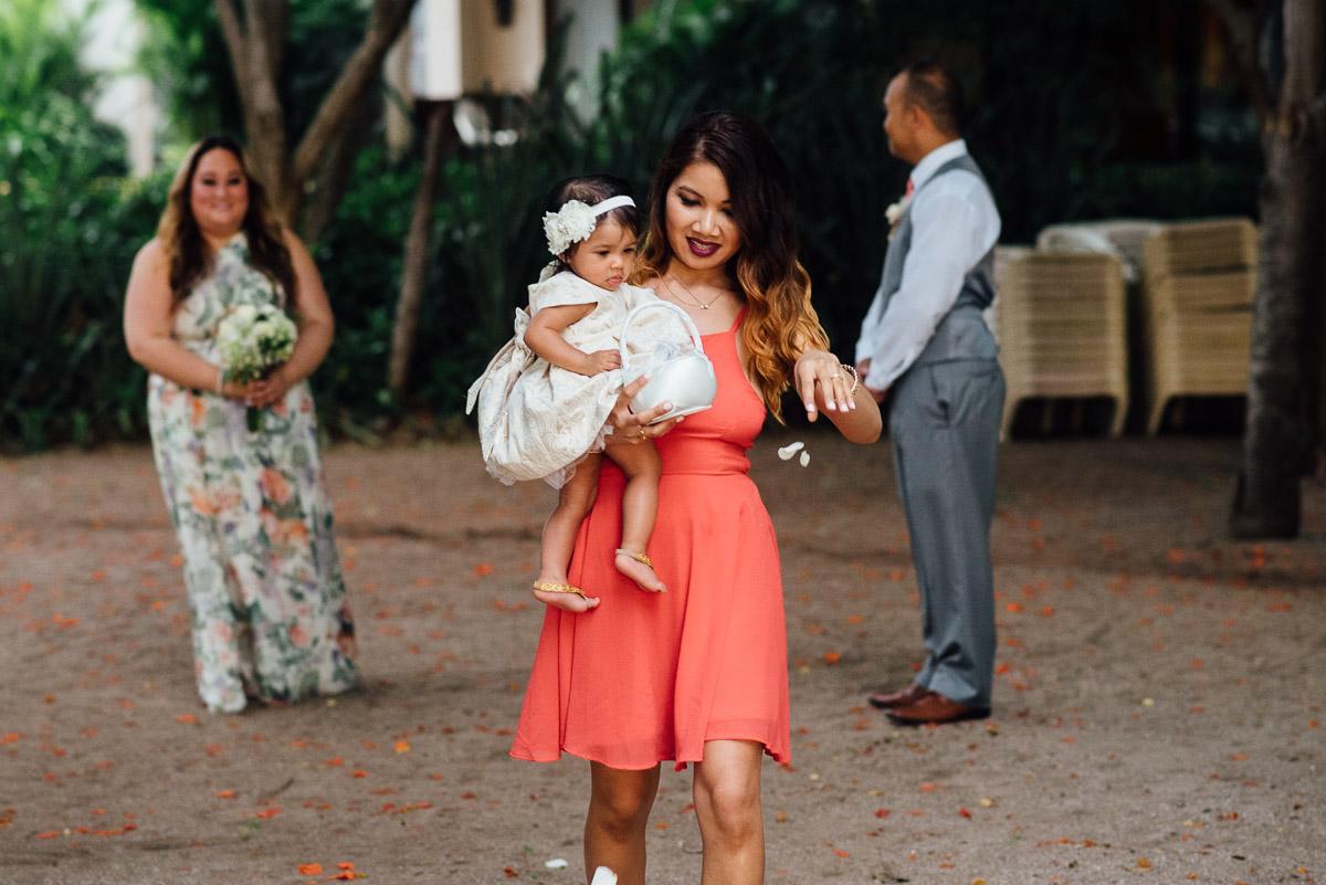 flower-girl-mom Costa Rica Destination Wedding