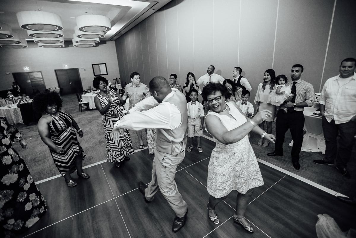 fun-wedding-reception Costa Rica Destination Wedding