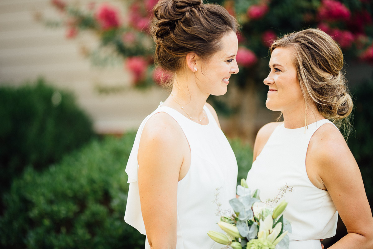 gay-wedding-photographer Becky and Kelly | Intimate Backyard Wedding