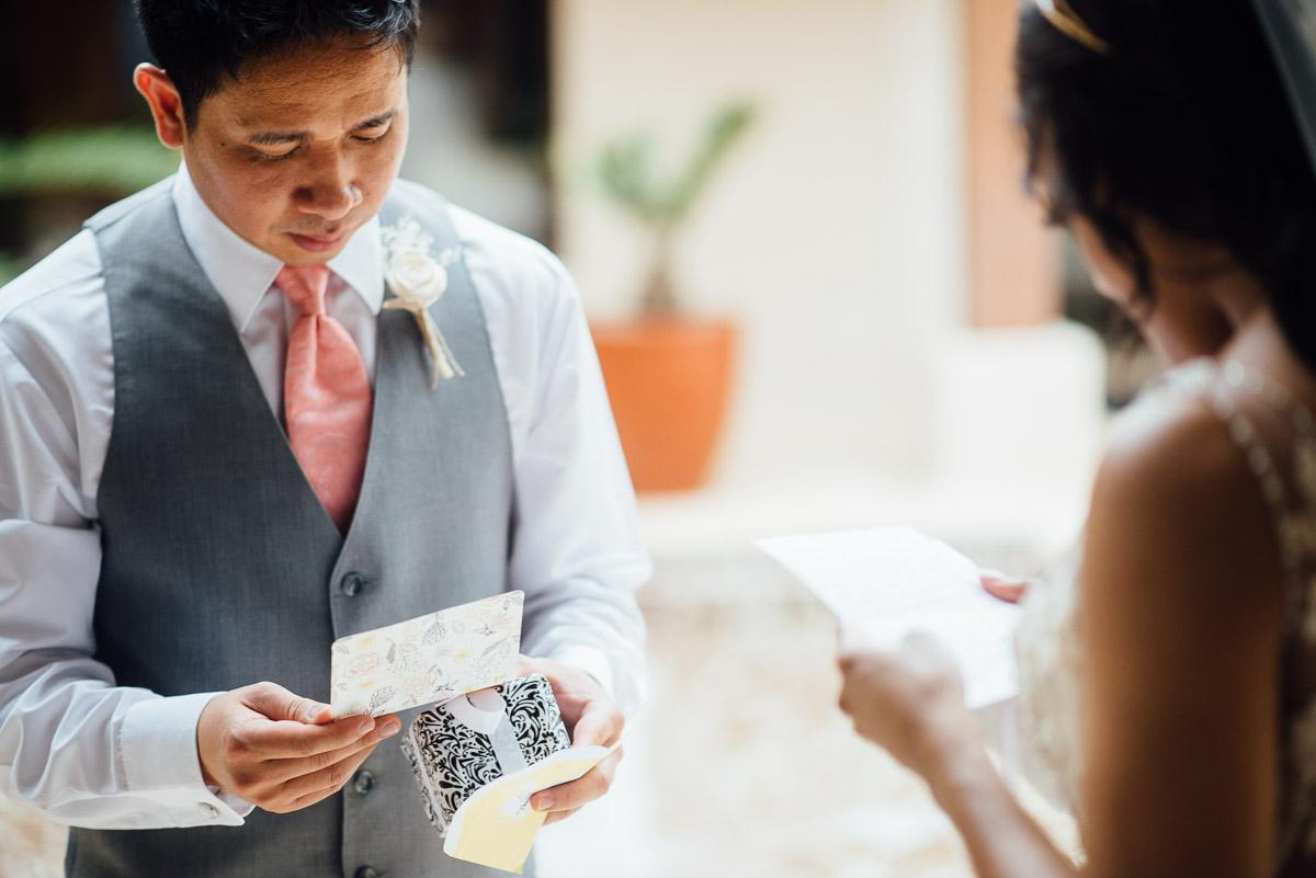 groom-gift Costa Rica Destination Wedding