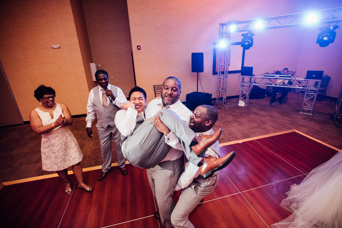 groom-on-dance-floor Costa Rica Destination Wedding