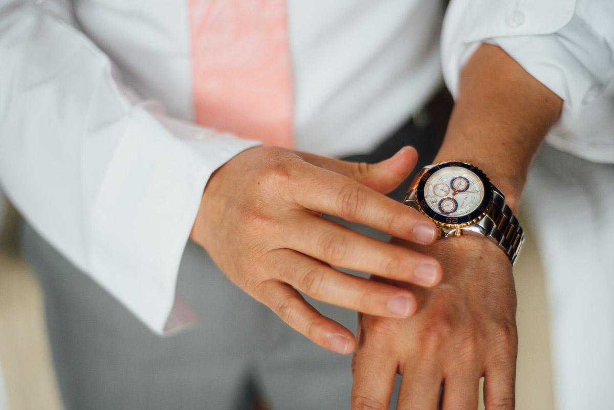 groom-watch Costa Rica Destination Wedding