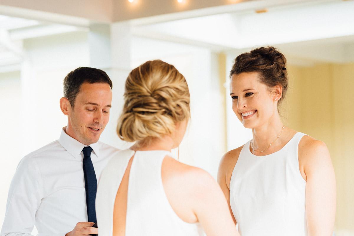 happy-bride Becky and Kelly | Intimate Backyard Wedding
