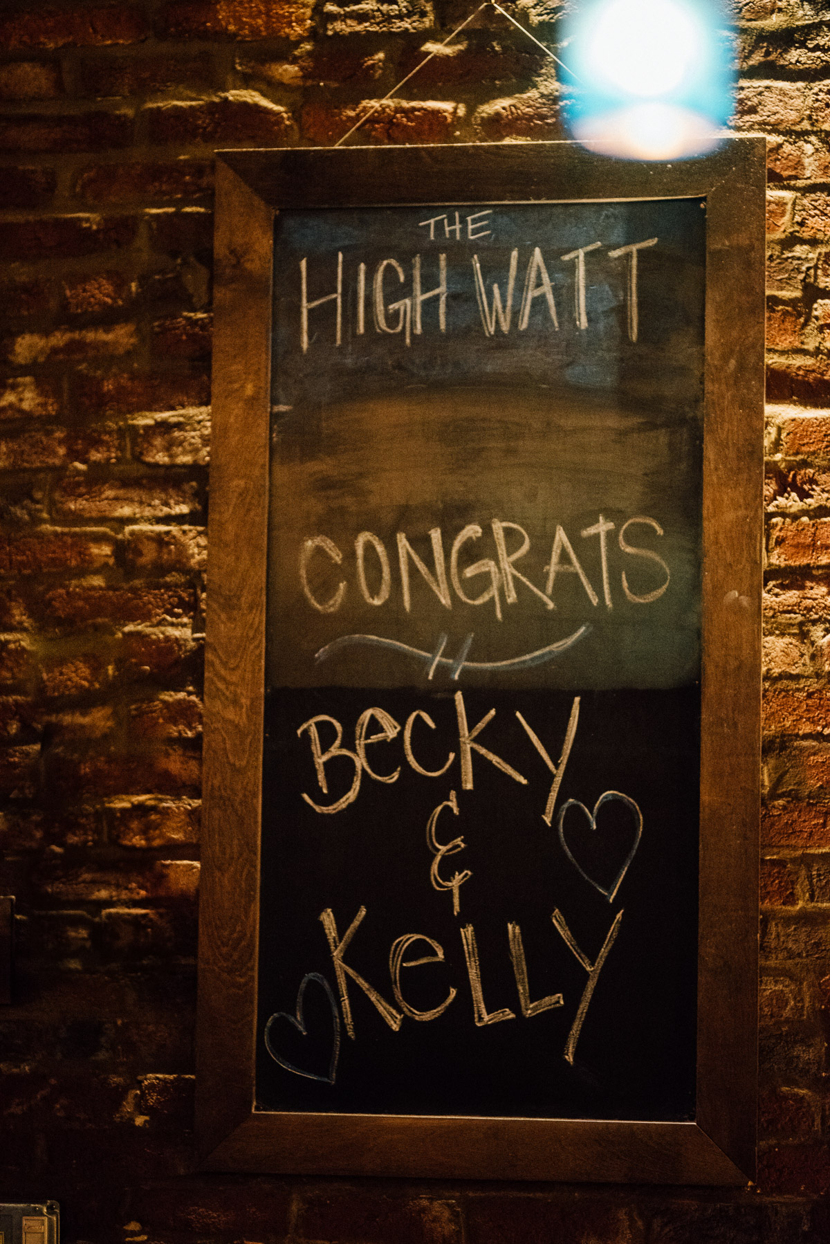 highwatt-congrats Becky and Kelly | Intimate Backyard Wedding
