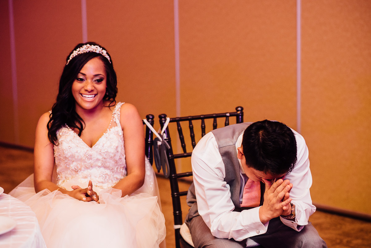 laughing-groom Costa Rica Destination Wedding