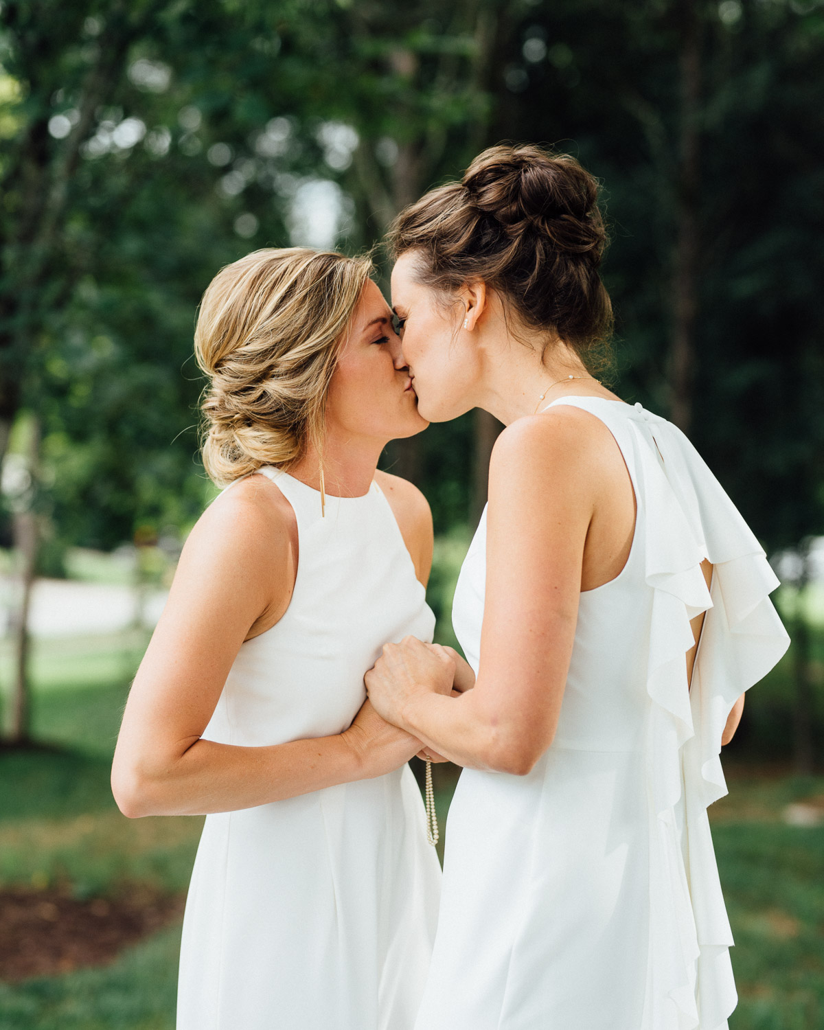 lgbt-wedding-photographer Becky and Kelly | Intimate Backyard Wedding