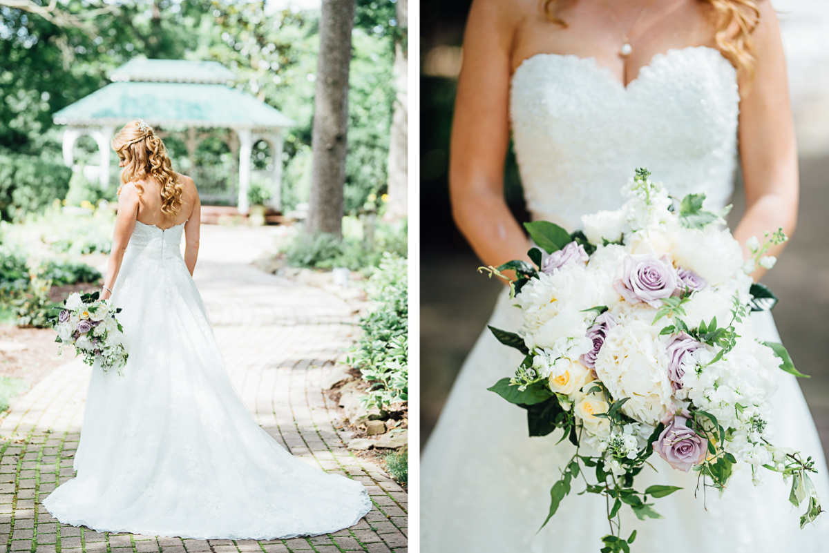 nashville-bridal-flowers Riverwood Mansion Wedding | Ashley and Kirk | Nashville, TN