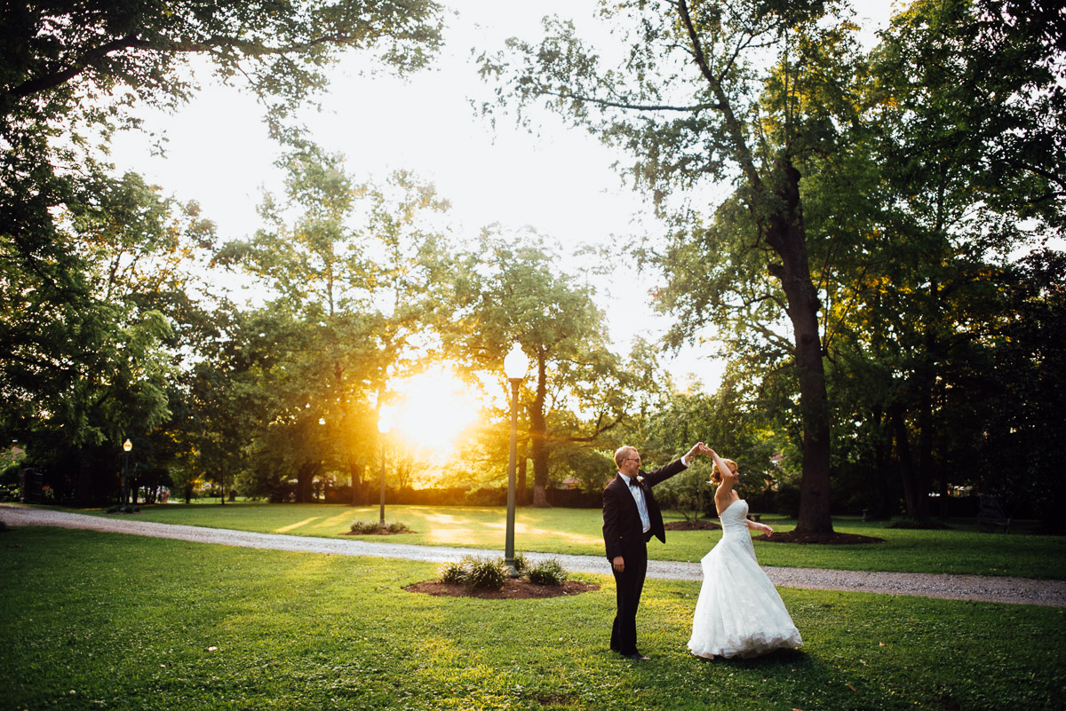 outdoor-wedding-dance Riverwood Mansion Wedding | Ashley and Kirk | Nashville, TN